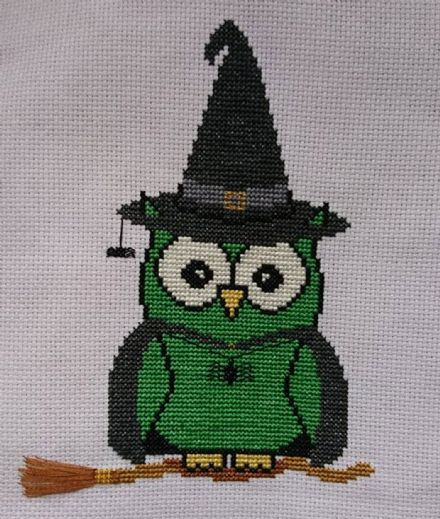Witch Ollie Owl